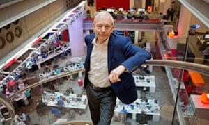 John Humphrys at BBC HQ.