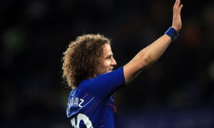A long pass from David Luiz helped Chelsea beat Manchester City at Stamford Bridge.