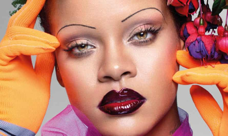 Rihanna on the cover of Vogue