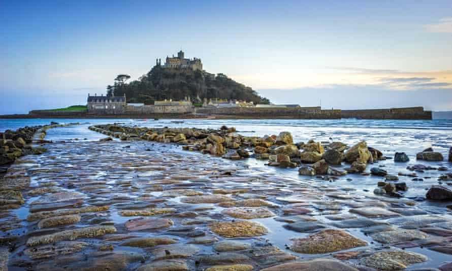 St Michaels Mount in Cornwall.