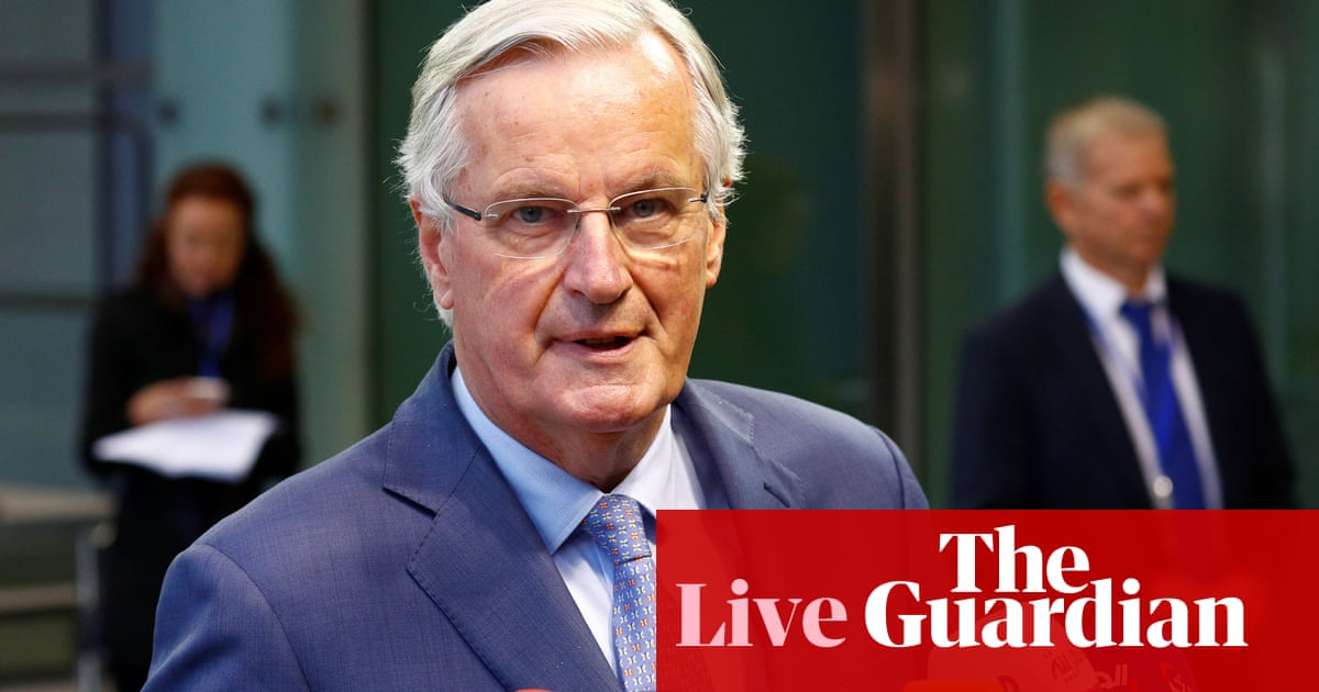 Brexit: Barnier says deal will be difficult but still possible this week - live news