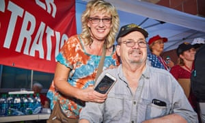 Brad Pontious: 'He spoke to me on a personal level, not a political level.'