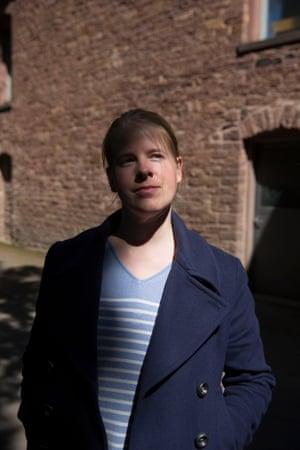 Sandra Norak, former prostitute, in Karlsruhe, Baden-Württemberg