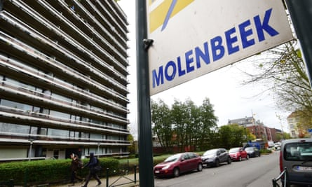 The Molenbeek district in Brussels