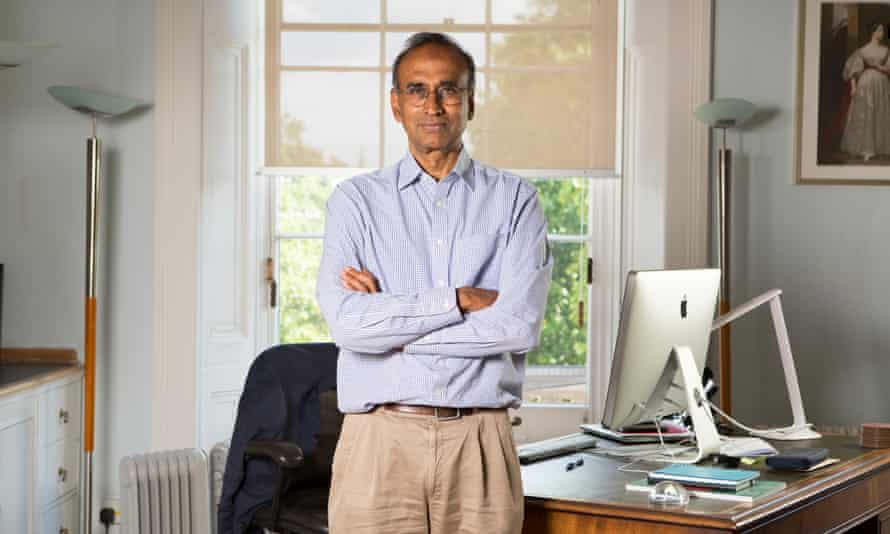 Venkatraman 'Venki' Ramakrishnan, president of the Royal Society.