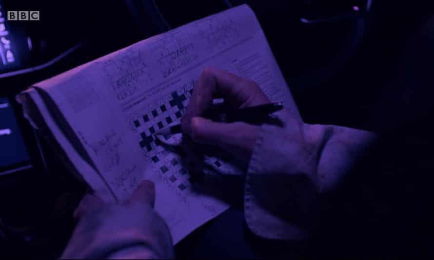 Sphinx's crossword in the Mark Gatiss and Steven Moffat Dracula adaptation.