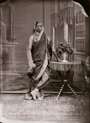 Unidentified Woman of the Zenana, c1870