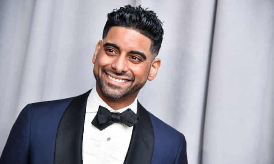 Amar Ramasar, pictured at the West Side Story premiere's after-party, controversially stars as Bernardo.