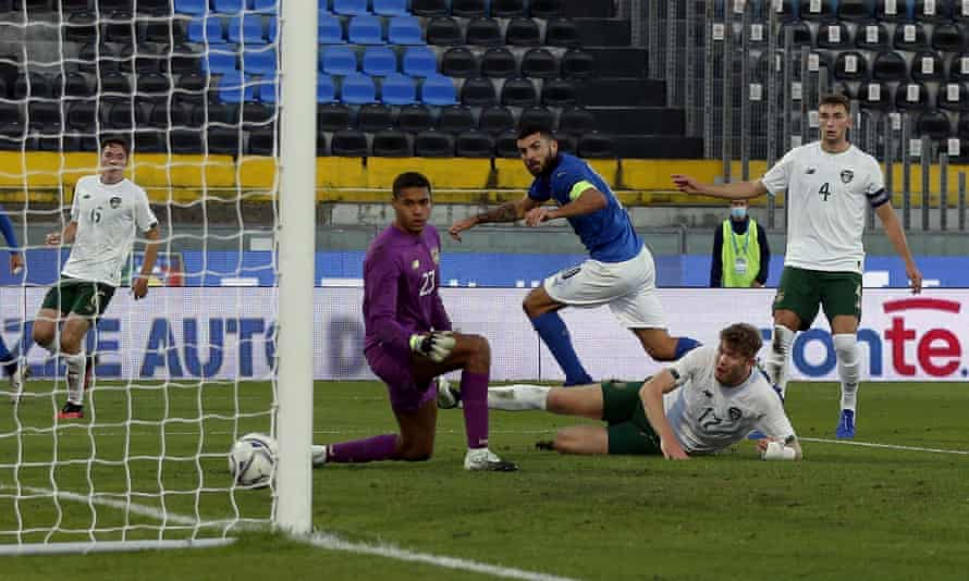 Patrick Cutrone did find the net for the Italy U21s in a Euro qualifier in October.