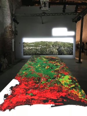 Lebanon – The Place That RemainsA series of beautiful projections over a relief map of Lebanon reflect how the country, one of the most densely populated in the world, might re-image both built and as-yet unbuilt space.
