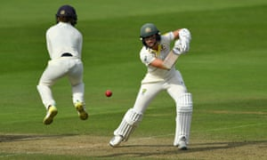 Ellyse Perry ended day one on 84 not out, one of four Australians to make half-centuries.