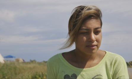 Jasilea Charger, 20, said she felt 'stuck' in her life on the Cheyenne River Sioux reservation.