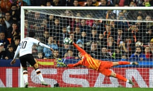 Kepa Arrizabalaga saved superbly from Valencia's Daniel Parejo but later misjudged Daniel Wass's late cross as it sailed into the net.