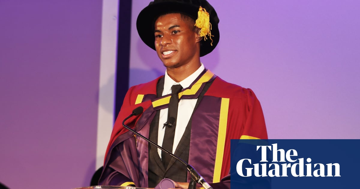 Marcus Rashford: universal credit cut comes at 'most difficult' time