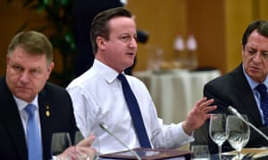 David Cameron, Klaus Werner Iohannis and Nicos Anastasiades