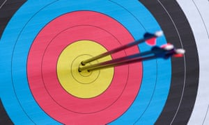 """Japanese PM Shinzo Abe had """"three arrows"""" in his effort to stimulate the economy."""