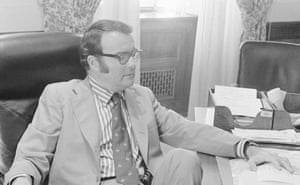Deputy attorney general William Ruckelshaus in 1973.
