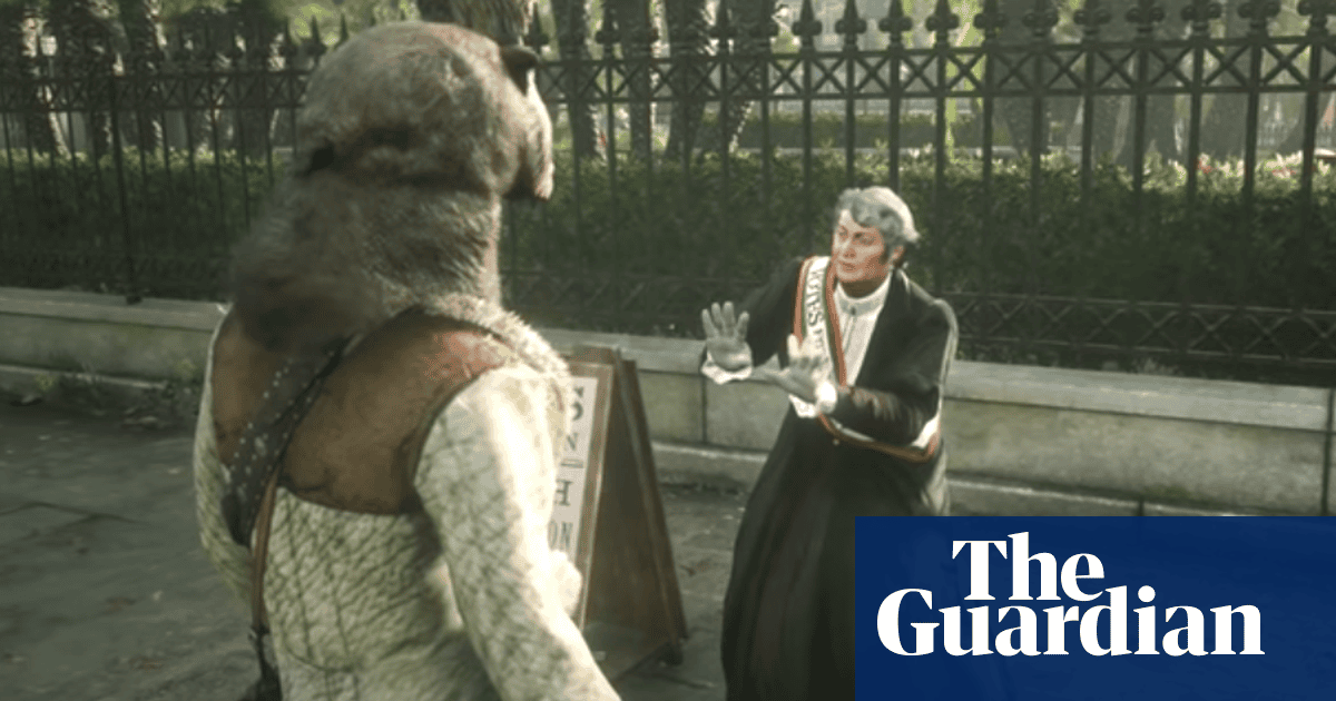 Red Dead Redemption 2: game criticised over killing of suffragette