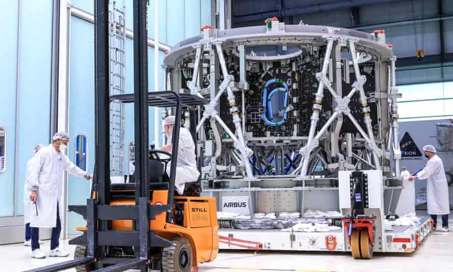 An ESM being built by Airbus
