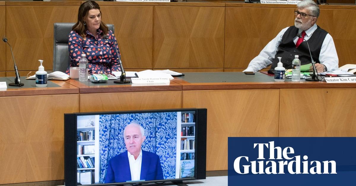 Turnbull tells Senate inquiry Rupert Murdoch admitted 'crazy agenda' to restore Abbott as leader