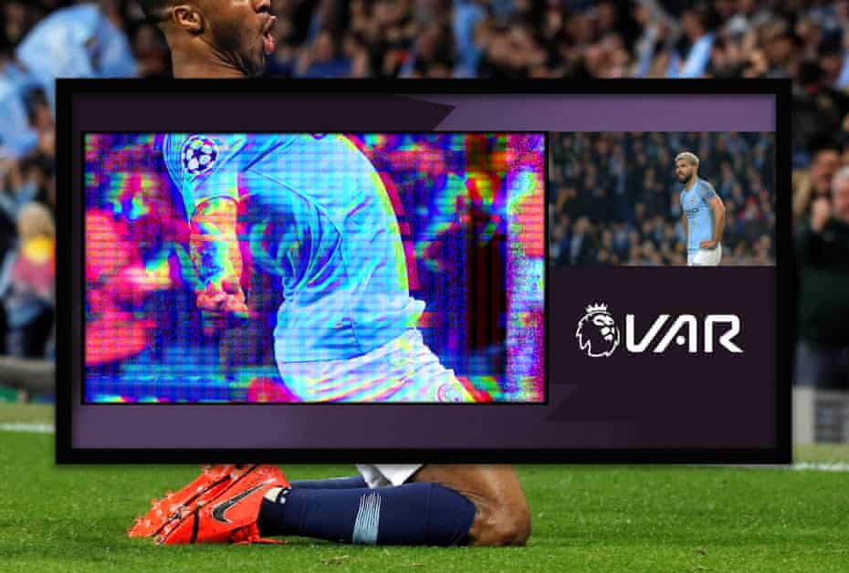 Champions League Quarter Final, Manchester City v Tottenham Hotspur, April 17, 2019. Manchester City's Raheem Sterling celebrates a goal that is later disallowed REUTERS/Phil Noble