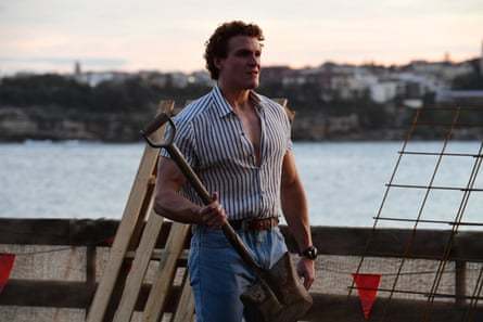 Alexander Bertrand, who plays Les, bases his characterisation on an ocker Queenslander he met while shooting a beer commercial last year.