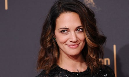 Asia Argento at the 2017 Creative Arts Emmy awards  ceremony in Los Angeles.