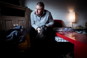 After years of homelessness Lisa Carberry lives in Geelong on the government Newstart allowance.