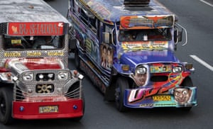 For decades, the jeepneys have provided a cheap and popular mode of transport for millions of city dwellers.