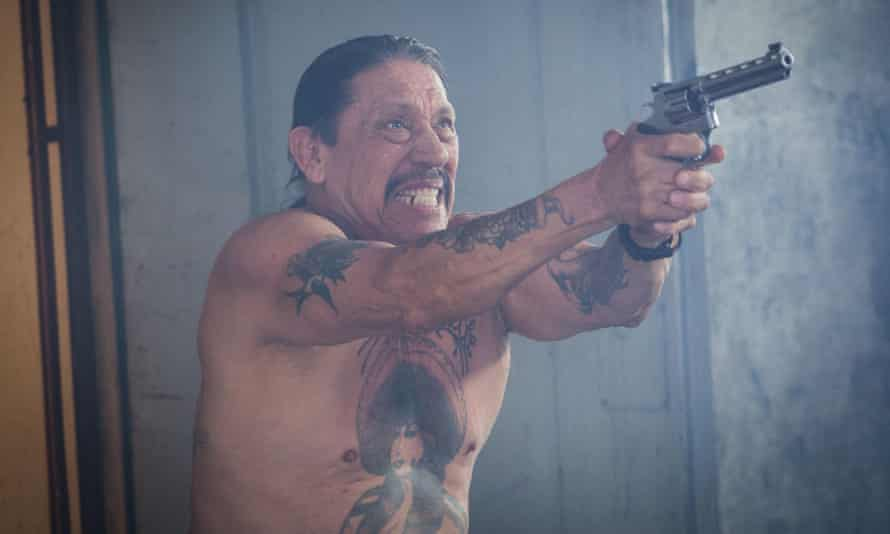 'I am the mean Chicano dude with tattoos' … Danny Trejo in Maximum Impact.