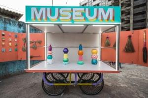 The museum moves around Dharavi - Mumbai's largest informal settlement.