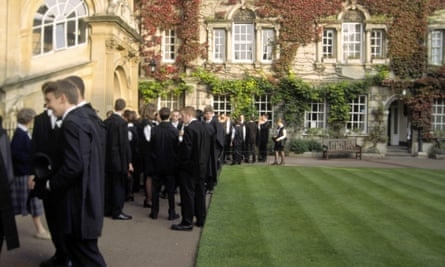 Students graduate at Hertford College, Oxford