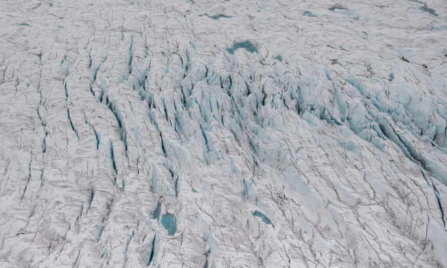 Greenland's melting season usually lasts from June to August. The Danish government data shows that it has lost more than 100bn tons of ice since the start of June this year.