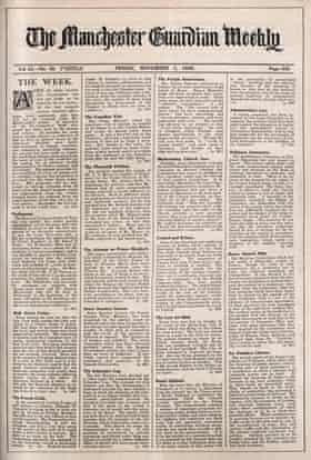 Guardian Weekly, 1 November 1929, Wall Street Crisis