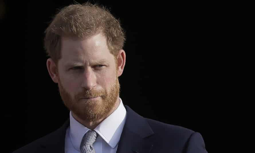the Duke of Sussex, Prince Harry.