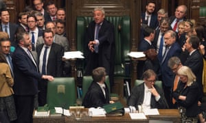 Speaker of the House of Commons John Bercow speaking during a debate on the second reading of the European Union Withdrawal (No. 5) bill in April 2019