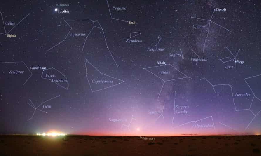 'It's disturbing a lot of people,' Arizona astrologer Salvador Russo said.