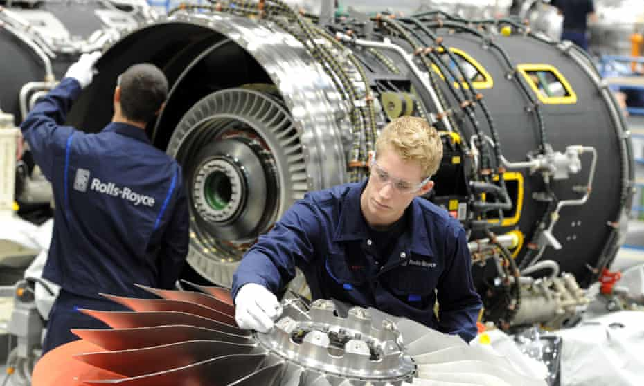 Aero engine maker Rolls-Royce is firmly for Remain.