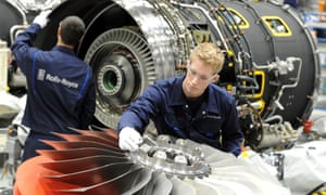 Rolls-Royce workers