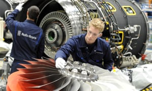 Workers at Rolls-Royce