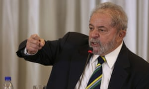 Luiz Inacio Lula da Silva compared the situation in Brazil to past moves to unseat the leaders of Paraguay, Honduras and Venezuela.