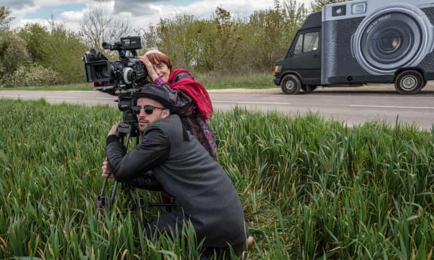 Varda with JR in Faces Places.