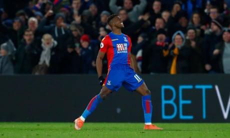 Tottenham unlikely to make January bid for Crystal Palace's Wilfried Zaha