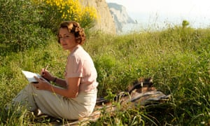 Taking note: as Louisa in The Durrells.