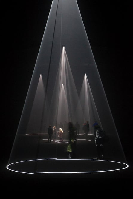 Anthony McCall's Solid Light installation.