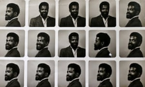 A contact sheet of pictures of Alford Gardner