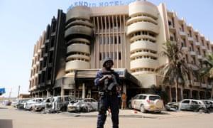 Splendid Hotel in Burkina Faso
