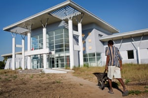 A newly built hospital that has never been opened, in Morondava