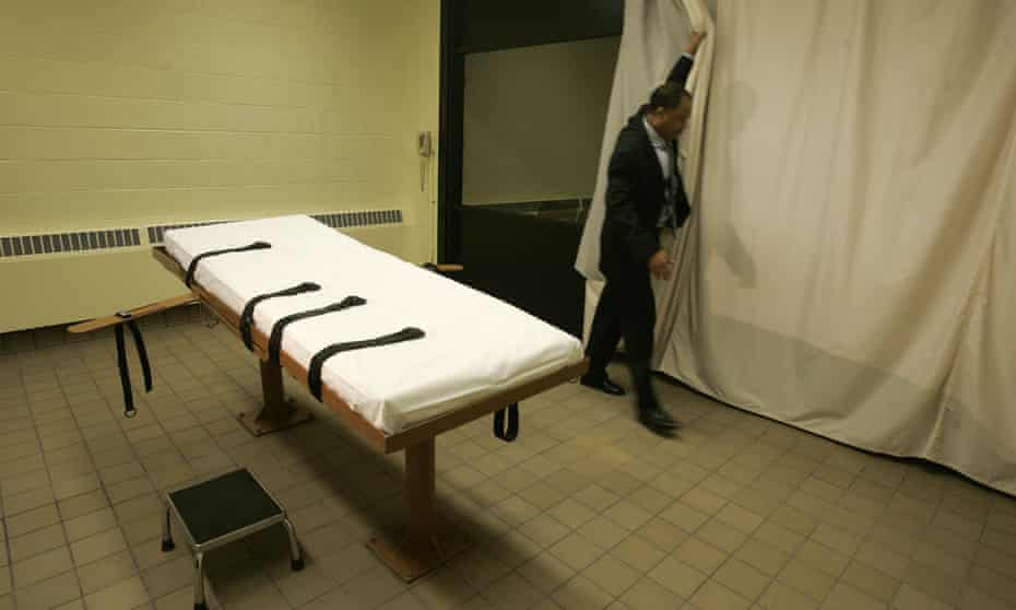 The death chamber in Lucasville, Ohio.
