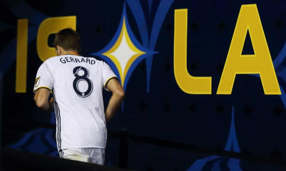 Steven Gerrard could not deliver another MLS Cup title for the Galaxy